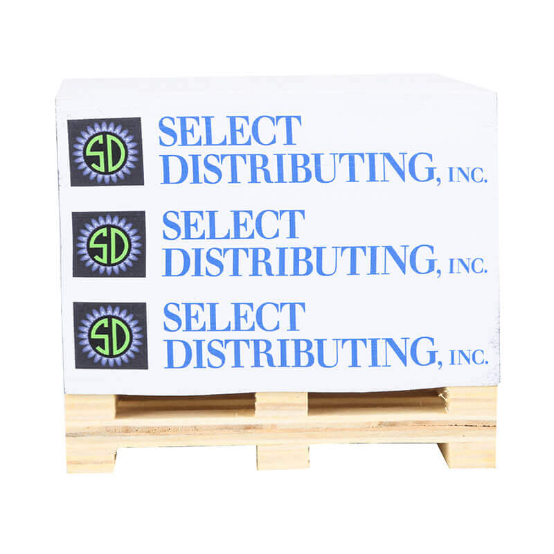 Custom Promotional Memo Pad Notepad With Wood Pallet ...